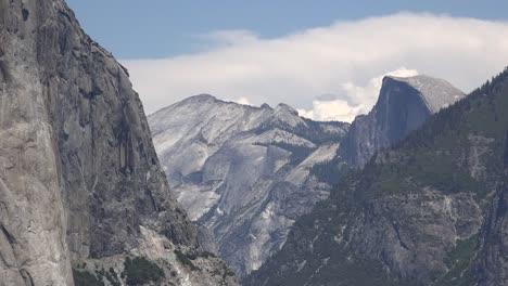 California-Yosemite-View-Of-Half-Dome-And-Polished-Granite