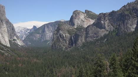California-Yosemite-View-Toward-Bridalveil-Falls