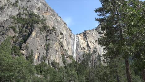 California-Yosemite-Waterfall-Over-Cliff