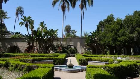 California-Garden-And-Fountain
