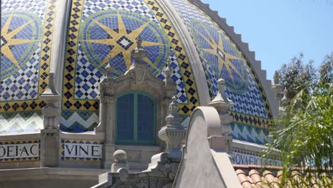 California-Mosaic-Dome-And-Window