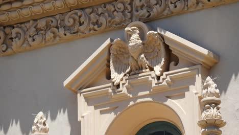 California-Stone-Carved-Eagle