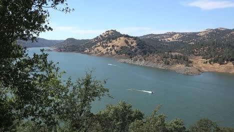 California-Two-Boats-On-Don-Pedro-Lake