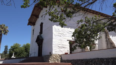 California-Fremont-Mission-San-Jose-Church-Front-And-Steps