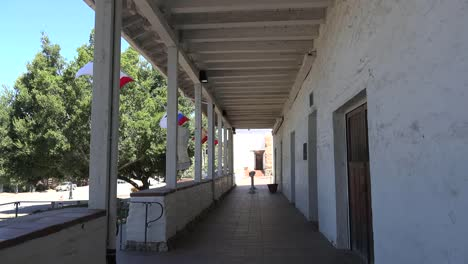 California-Fremont-Mission-San-Jose-Colonnade