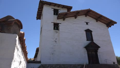 California-Fremont-Mission-San-Jose-Front-With-Bell-Tower