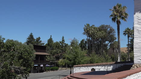 California-Fremont-Mission-San-Jose-Wall-And-Side-Door-Pan