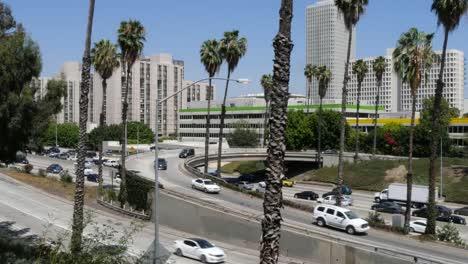 California-Los-Angeles-Bridge-Leading-Into-Highway