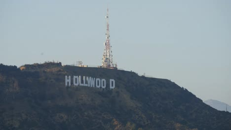 California-Los-Angeles-Close-Up-Of-The-Hollywood-Sign-And-Radio-Tower