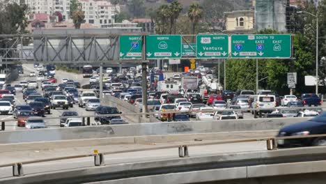 California-Los-Angeles-Congested-Slow-Highway