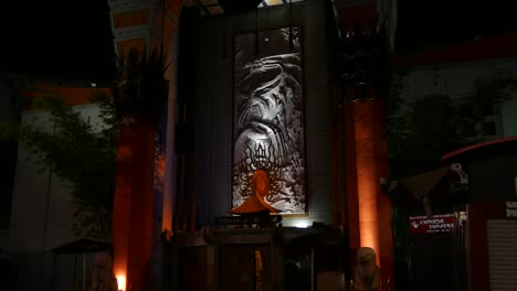 California-Los-Angeles-Stone-Carved-Dragon-At-The-Tcl-Chinese-Theater-At-Night