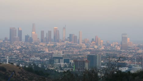 California-Los-Angeles-View-Of-Whole-City-In-Evening