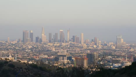 California-Los-Angeles-View-Of-Whole-City-With-Gray-Sky