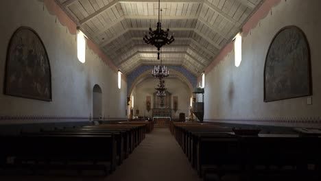 California-Mission-San-Antonio-De-Padua-Interior-Of-Church