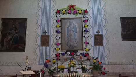 California-Mission-San-Miguel-Arcangel-Altar-To-Guadelupe