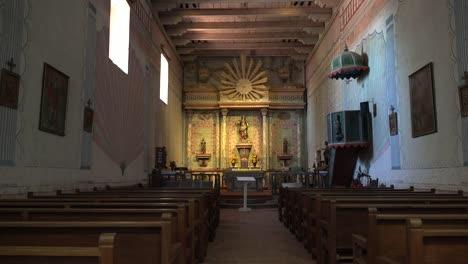 California-Mission-San-Miguel-Arcangel-Church-Interior
