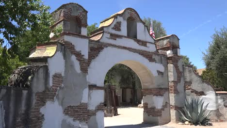 California-Mission-San-Miguel-Arcangel-Entrance