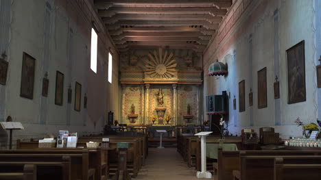 California-Mission-San-Miguel-Arcangel-Interior