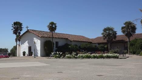 California-Mission-Soledad-Church-With-Garden