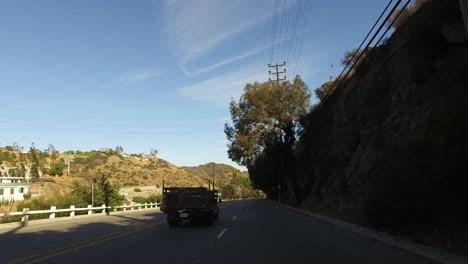 California-Driving-Under-An-Underpass