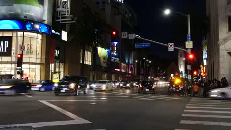 Los-Angeles-Hollywood-At-Night-Time-Lapse
