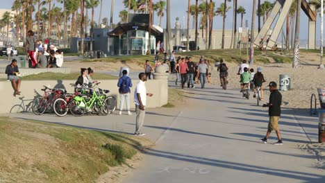 Los-Angeles-Venice-Beach-Bike-Path-From-Above