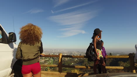 Los-Angeles-Backs-Up-From-Sightseers-At-An-Overlook