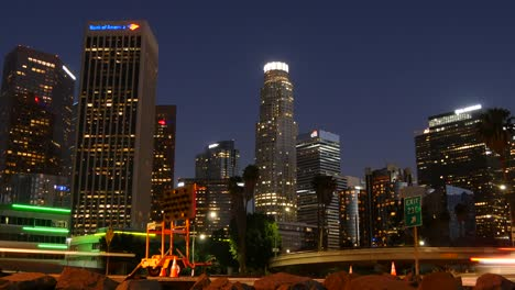 Los-Angeles-Lights-On-In-Buildings
