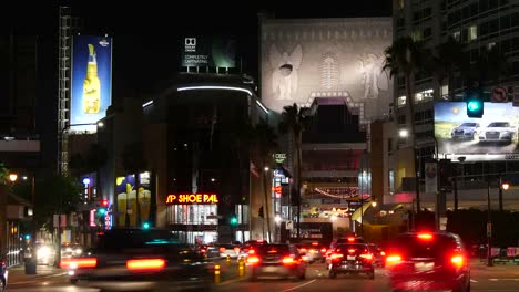 Los-Angeles-Lots-Of-Traffic-At-Night-Time-Lapse