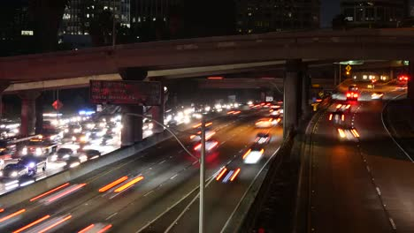 Los-Angeles-Throughway-Traffic-At-Night-Time-Lapse