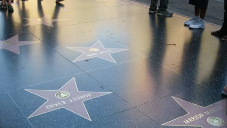 Los-Angeles-Tourists-Walk-Across-Stars-On-The-Hollywood-Walk-Of-Fame