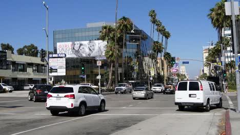 Los-Angeles-Traffic-On-Hollywood-Boulevard