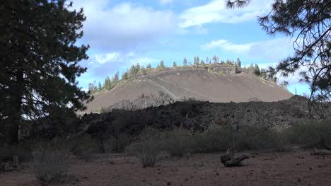 Lava-De-Oregon-En-La-Colina-De-Lava-Acercar