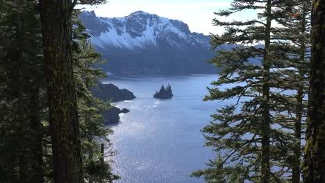 Oregon-Crater-Lake-Phantom-Ship-View-Zooms-In