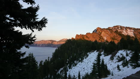 Oregon-Crater-Lake-Branch-Frames-Late-Evening-View