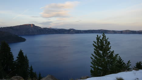 Oregon-Crater-Lake-Late-Evening-Clouds