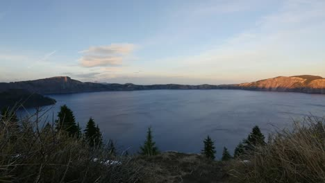Oregon-Crater-Lake-Overview-After-Sunset