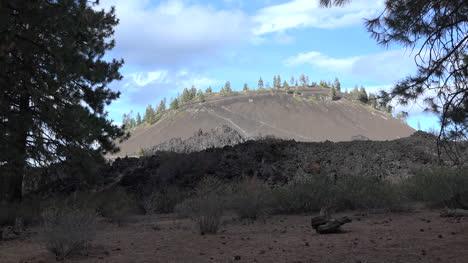 Lava-De-Oregon-En-El-Zoom-De-Butte-De-Lava