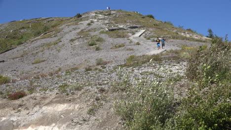 Washington-Boys-On-Path-Down-Mountain