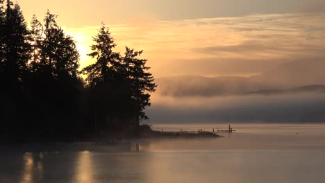 Washington-Morning-Mist-Rising-At-Sunrise