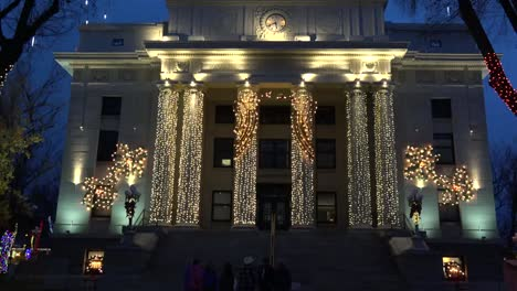 Arizona-Prescott-Courthouse-Facade-At-Christmas-Tilt-Up