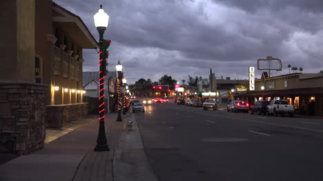 Arizona-Wickenburg-Main-Street-Christmas-Evening-Time-Lapse