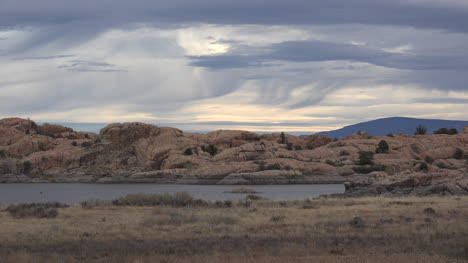 Arizona-Clouds-Over-Willow-Lake