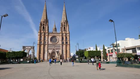 Mexico-Arandas-St-Joseph-Church-And-Plaza