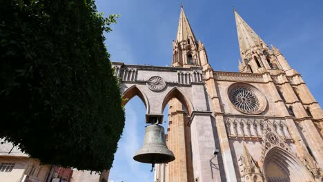Mexico-Arandas-Famous-Bell-By-Church