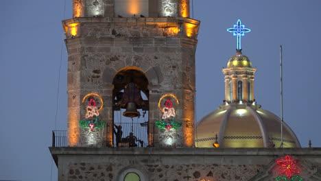 Mexico-Arandas-Man-Ringing-Church-Bell-Sound