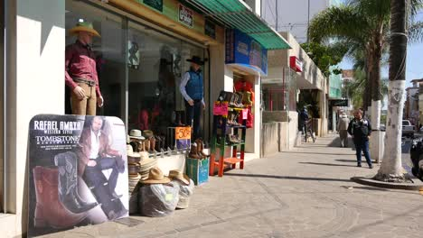 Mexico-Arandas-Sidewalk-By-Boot-Shop
