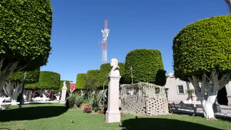Mexico-San-Julian-A-Hero-Bust-And-Telecommunications-Tower