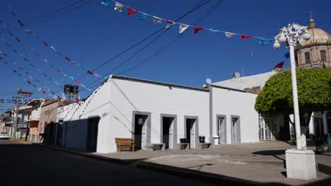 Mexico-Santa-Maria-Banners-And-White-Houses