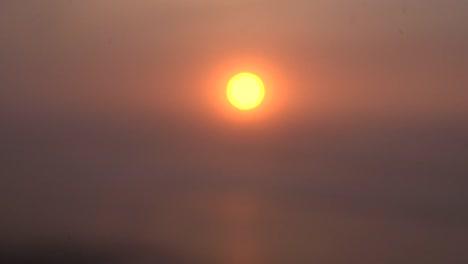 Setting-Sun-In-Evening